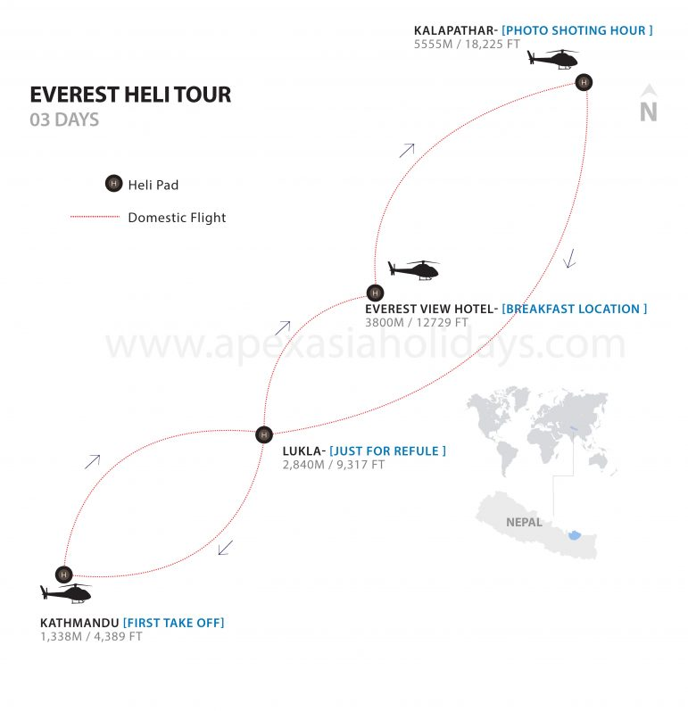 Everest-Heli-Tour-Detailed-Map