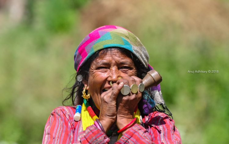 A women in Mugu district. Rara Trek of Nepal with Apex Asia Holidays