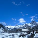 Awesome view along the Annapurna Circuit Treka and tilicho Lake trek