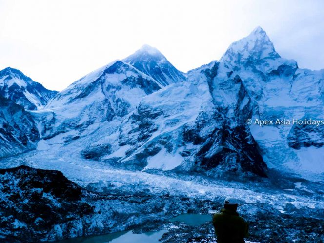 Cool mountains seen from Kalapathar during the Everest Base Camp Trek
