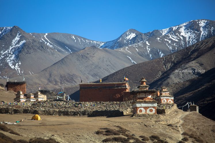 A monastery in upper dolpo- Western Nepal Tourism