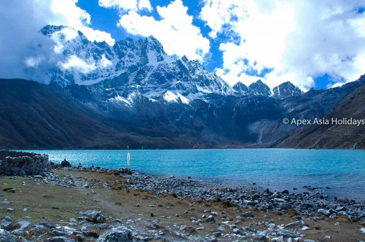 Gokyo Lake in Everest Tekking Region with Apex Asia Holidays