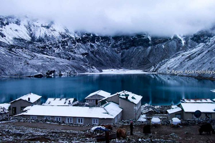 Gokyo Lake in Everest Trekking Region with Apex Asia Holidays