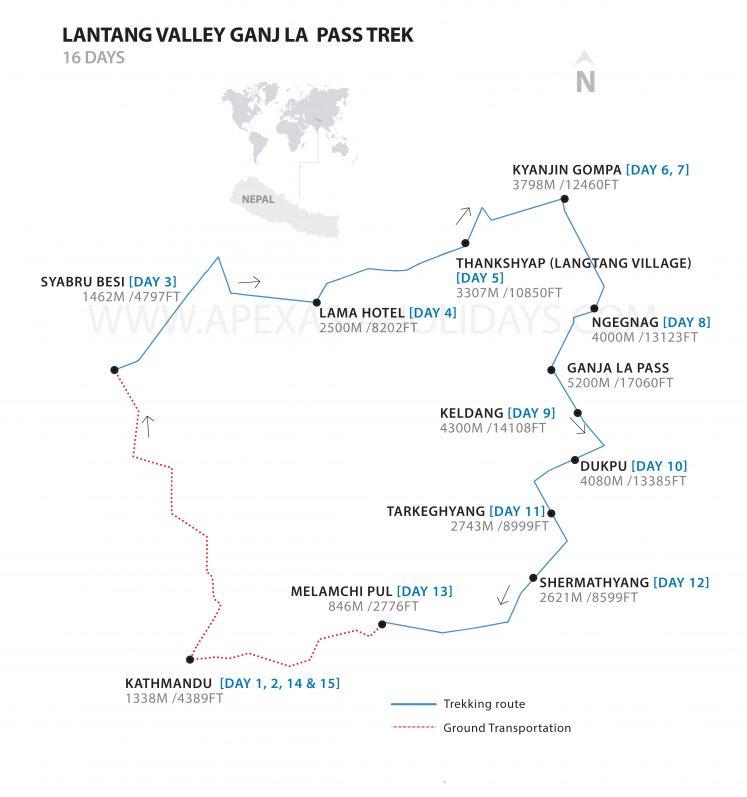 Langtang-Valley-Ganja-La-detailed-map