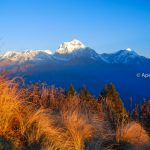 Mount Dhaulagiri from Poon Hill in Annapurna Trekking Region with Apex Asia Holidays. View from Poon Hill Ghorepani