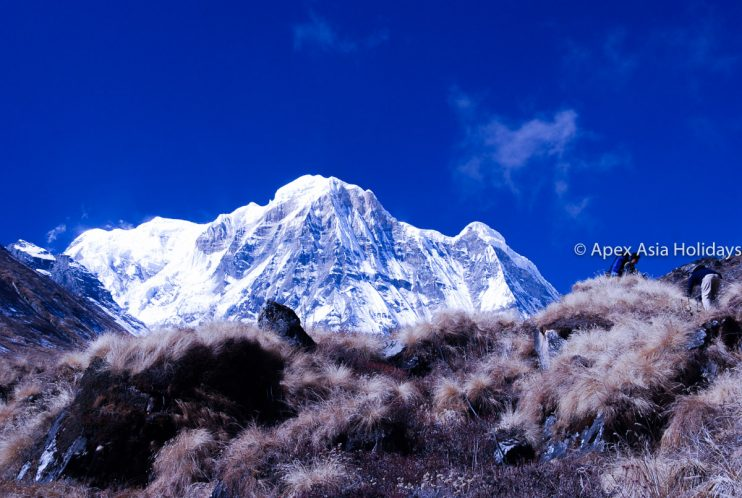 Stunning Mountain En route of Annapurna Trekking Region