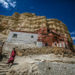 The Sun Cave Monastery- Upper Mustang - photo by Anuj Adhikary
