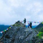 Trekkers are enjjyoing along Everest Trekking Region
