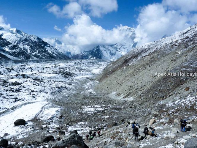 Trekking to Everest Base Camp Trek with Apex Asia Holidays
