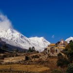 Beautiful Landscape around the Manaslu Circuit Trek