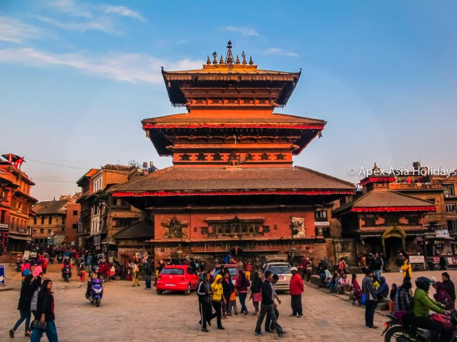 Bhairabnath Temple in Bhaktapur Durbar Square