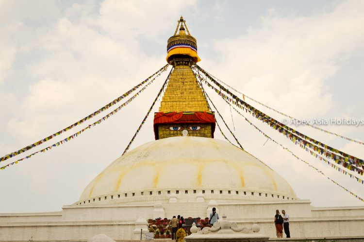 Boudhanath Stupa at Boudhha- It is a most popular spots for kathmandu sightseeing