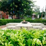 Eternal light in the Lumbini- Birthplace of Lord Buddha
