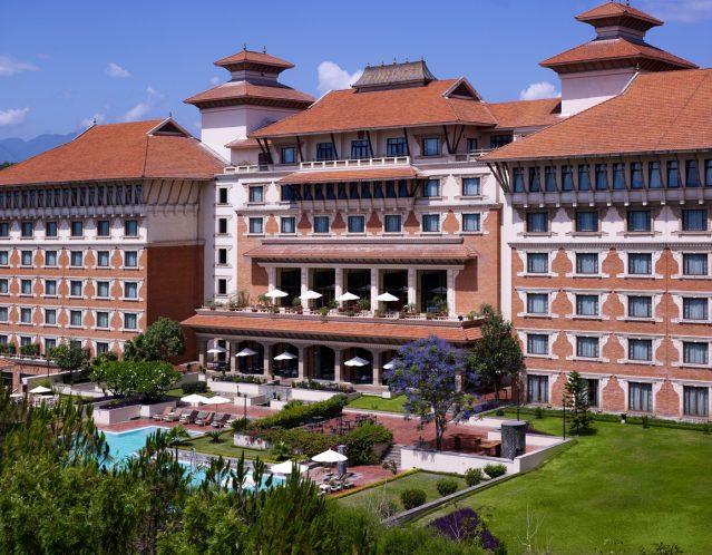 Hyatt Regency Hotel in Kathmandu.