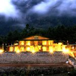 The building of Yeti Mountain Home in Manjo. Everest Panorama Luxuruy Trek