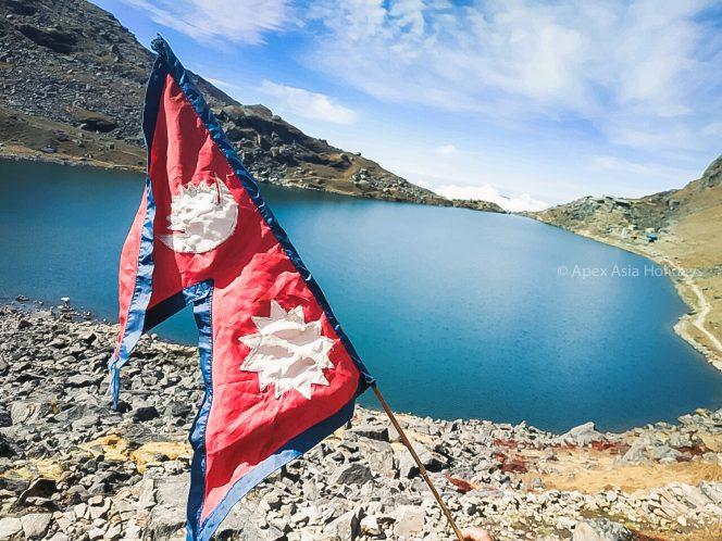 Goasiakunda Lake - the most stunning lake of Langtang trekking Region