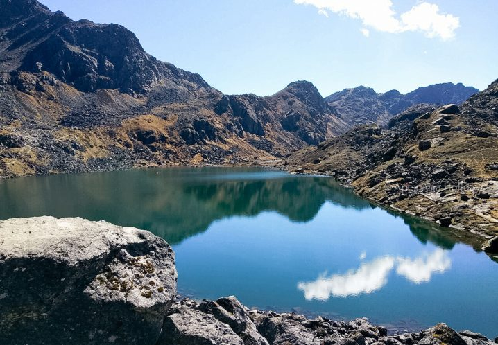 Gosaikunda Lake in Langtang Trekking Region