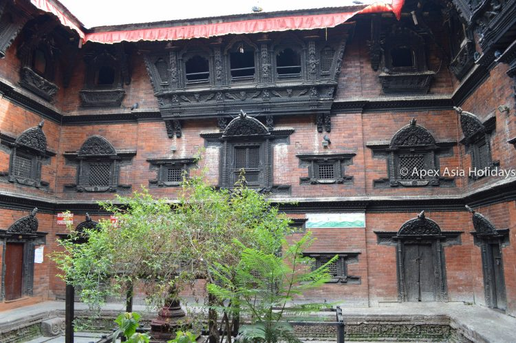 Kumari House in Kathmandu Valley Hilights Tour in Bashantapur Durbar Square