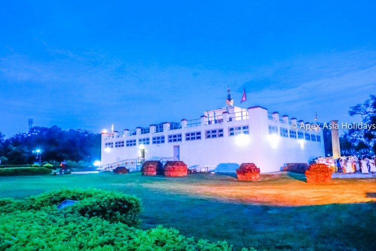 Mayadevi Temple in Lumbini- The birthplace of Lord Buddha
