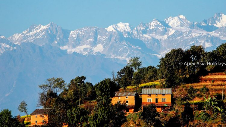 Nagarkot Chisapani Trekking trail. The best short trek of Nepal.