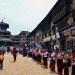 Newar-Communities-women-in the-Durbar-Squares