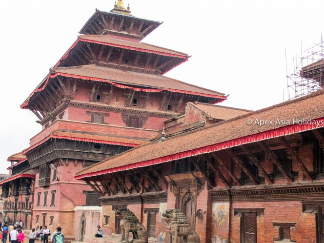Patan Durbar Square during the Kathmandu Highlights Tour
