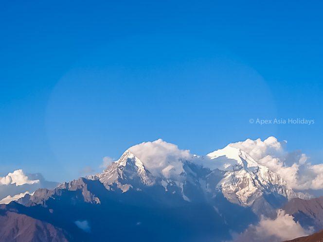 Stunning Himalayan view from Langtang Gosaikunda Trekking Route