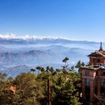 The Photo is taken from the Nagarkot with Apex Asia Holidays