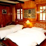 The bed room of Yeti Mountain Home in Phakding in Everest Region with Apex Asia Holidays for Everest Panorama Luxury Trek
