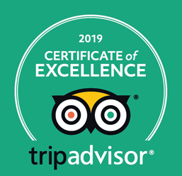 Trip Advisor Excellent Reviews