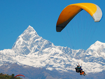 Paragliding in Pokhara from Sarangkot with Apex Asia Holidays