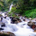 A river along the trekking trail of Annapurna Trekking region