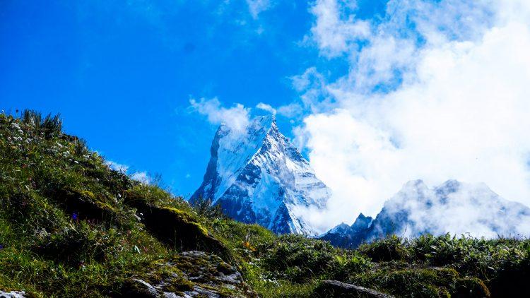 A Gaint Mountain Machhapurchhre enroute of Mardi Himal Trek