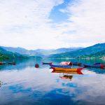 Phewa Lake in Pokhara which we will visit after Mardi Himal Trek