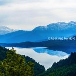 Rara Lake View from en route of Murma Topwith Apex Asia Holidays