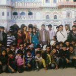 At Janakpur Janaki Temple -Educational Tour in Nepal